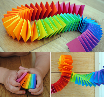 How To Make An Easy Origami Caterpillar