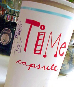 time capsule for kids