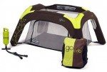 A travel cot designed for travelling!