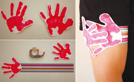 hand print craft idea