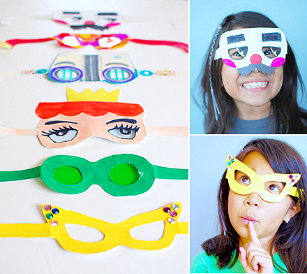 Easy Paper Crafts Eyeglasses