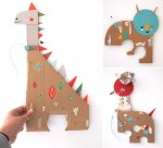 paper toy friends