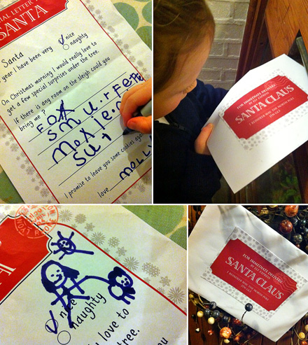 MollyMooCrafts Santa Letter Printables Free