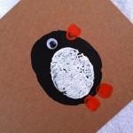 Penguin Potato Print Cards