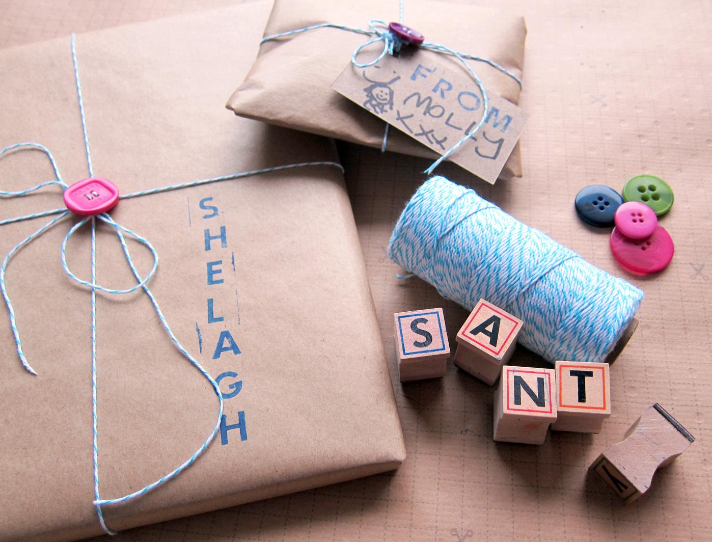 Mollymoocrafts Present Wrapping Ideas Mollymoocrafts