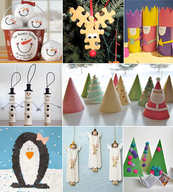 Decorating Ideas > MollyMooCrafts Christmas Craft Corner  MollyMooCrafts ~ 174913_Christmas Ornaments Ideas Craft