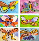 butterfly art for the smallies