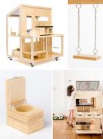 Fab Find: dollshouse on wheels
