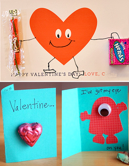 MollyMooCrafts DIY Valentine Cards MollyMooCrafts – How to Make Handmade Valentine Cards