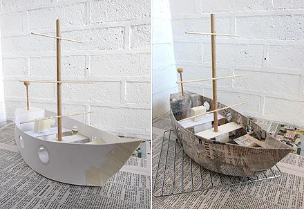 mollymoocrafts cardboard toys diy pirate ship. Black Bedroom Furniture Sets. Home Design Ideas