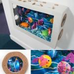 DIY Cardboard Aquarium Craft