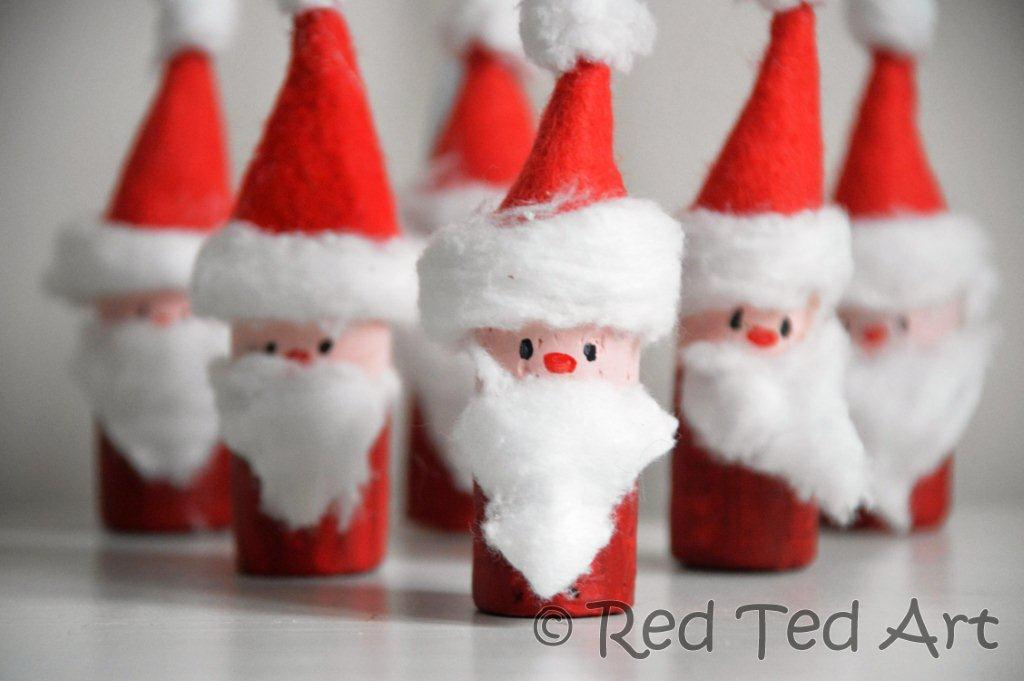 homemade paper christmas decorations for kids photo13