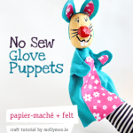 No Sew Easter Crafts