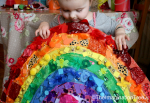 crafts for kids – rainbow collage