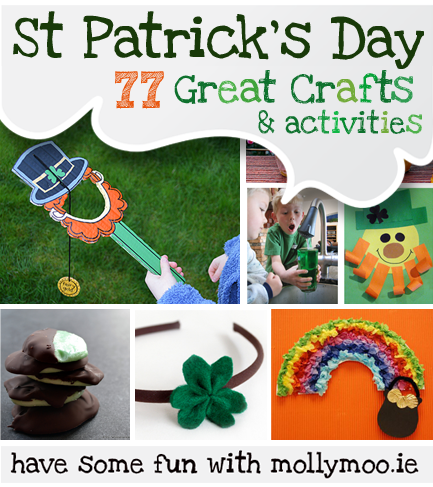 Mollymoocrafts 77 st patrick 39 s day crafts ideas to for St patrick day craft ideas