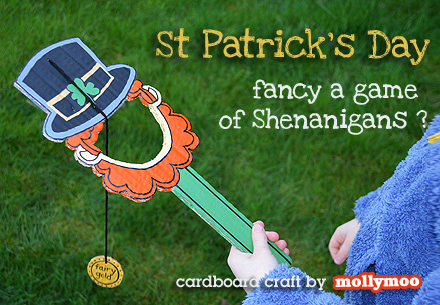 Patrick/'s Day Leprechaun Enamel Pin Badges Includes Box St