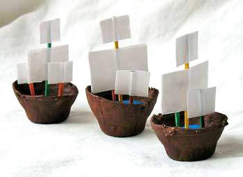 egg carton boat craft