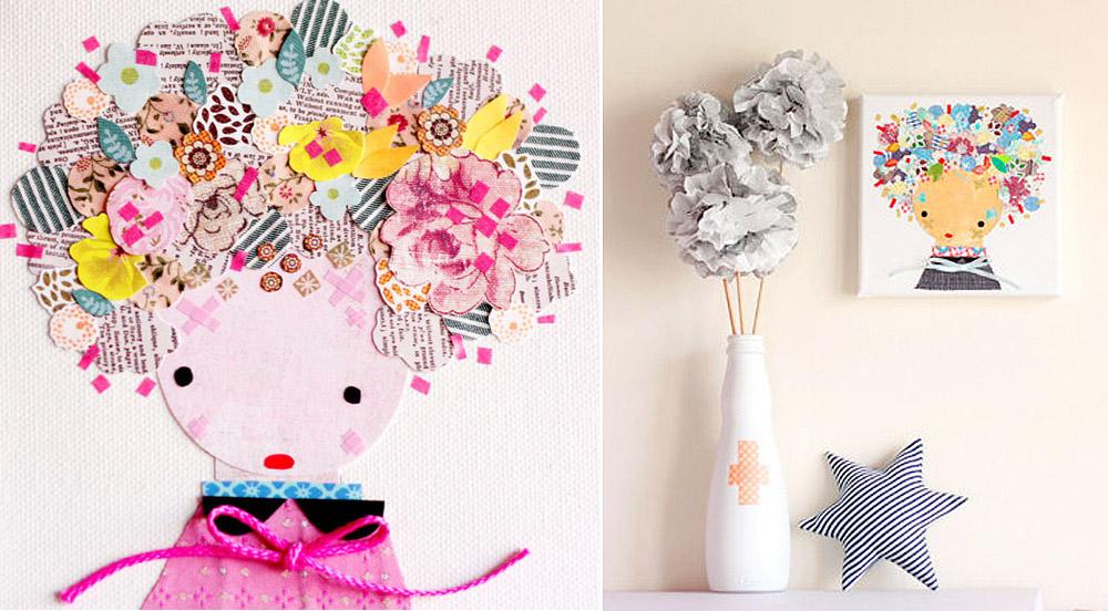 Mollymoocrafts Handmade Paper Dolls Etsy Find