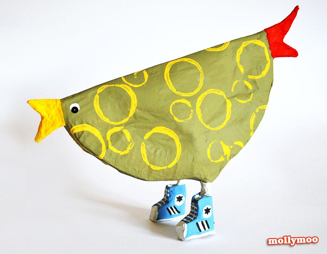 green-paper-plate-hen