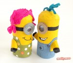 Toilet Roll Craft- Make a Minion