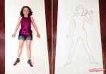 Art for Kids – Life-Size Portraits