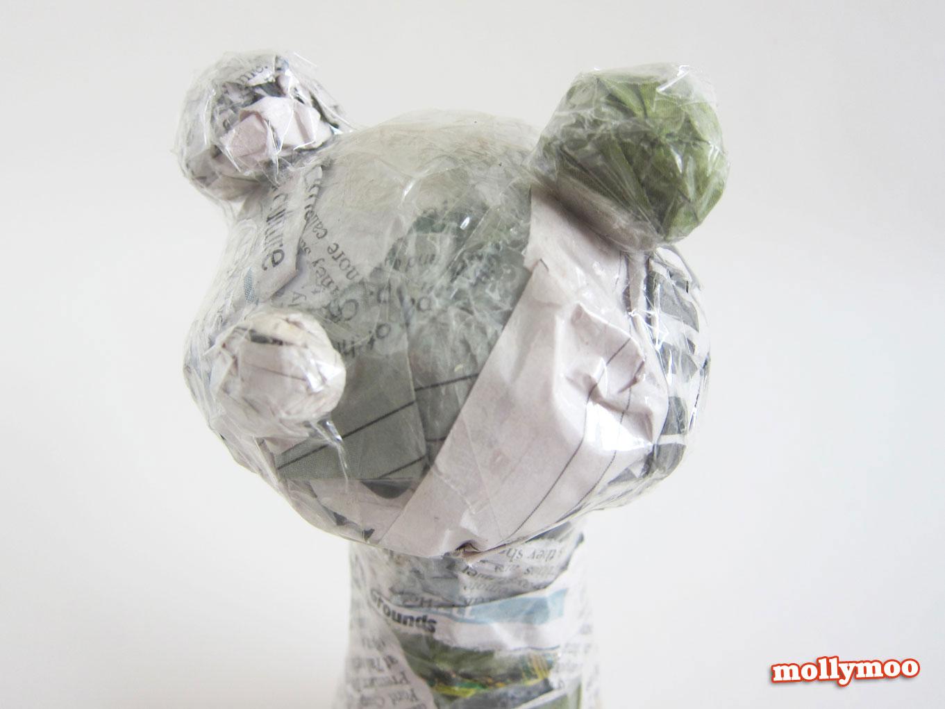 papier mache craft for kids