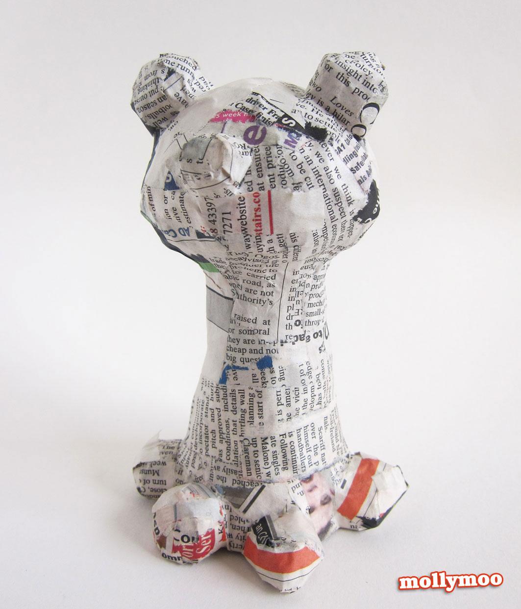 papier mache crafts for children