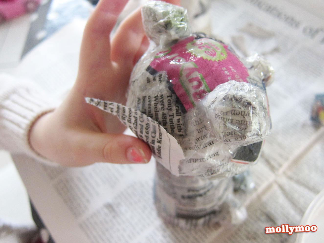 papier mache crafts for kids