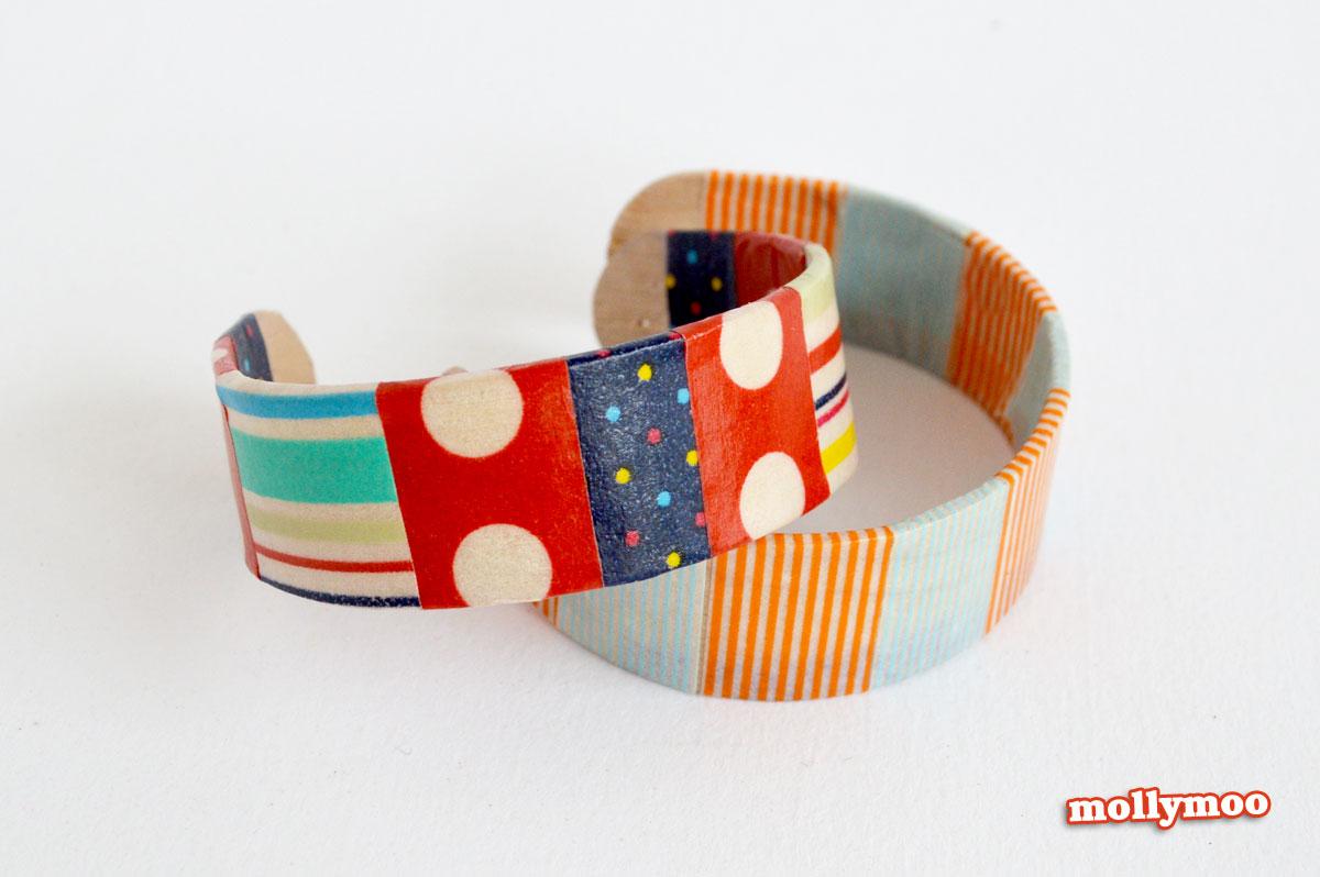 washi-tape-bracelets