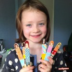 Simple Kids Craft – Craft Stick Dolls
