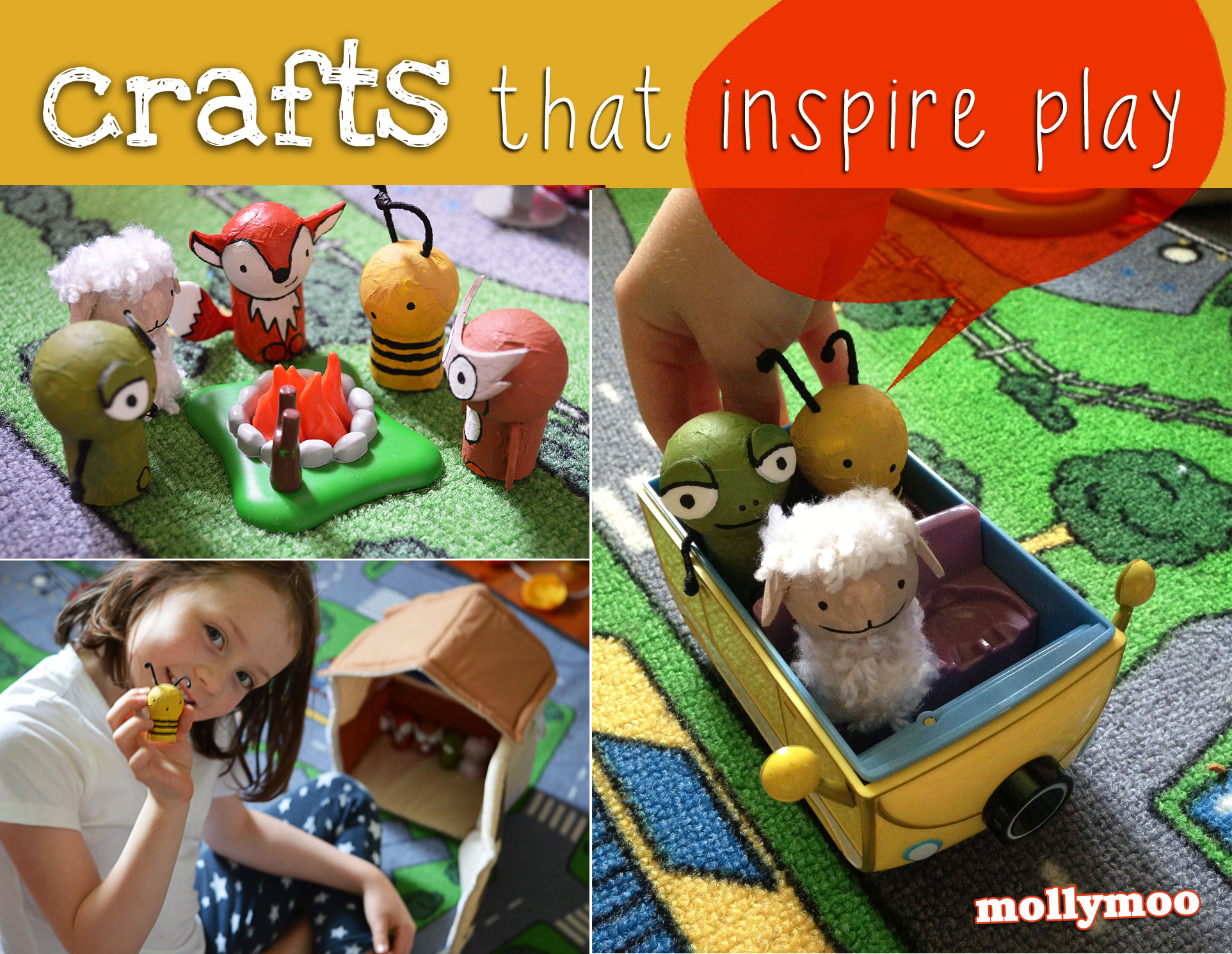 crafts by Michelle McInerney of MollyMoo