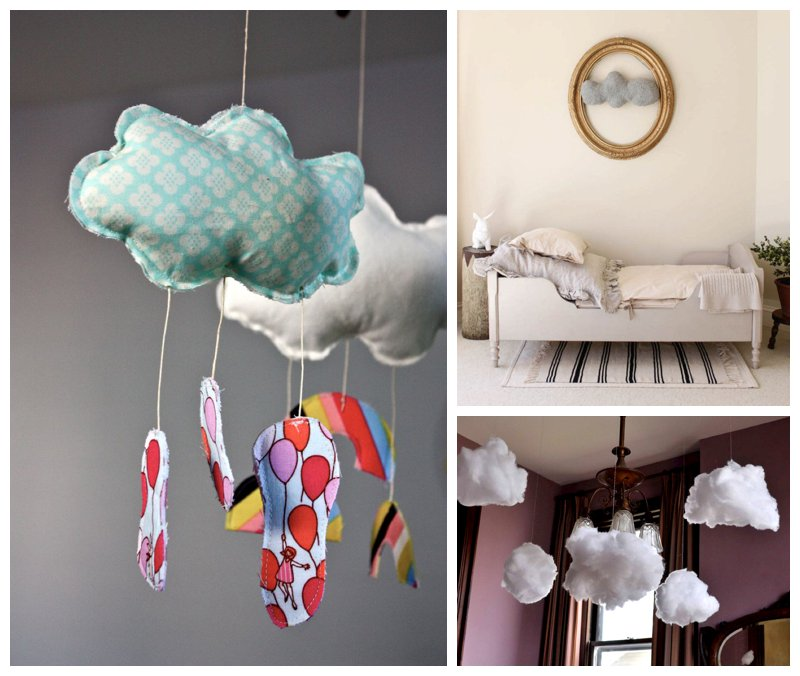 round up of cloud themed crafts and decor inspiration on mollymoo, Michelle McInerney
