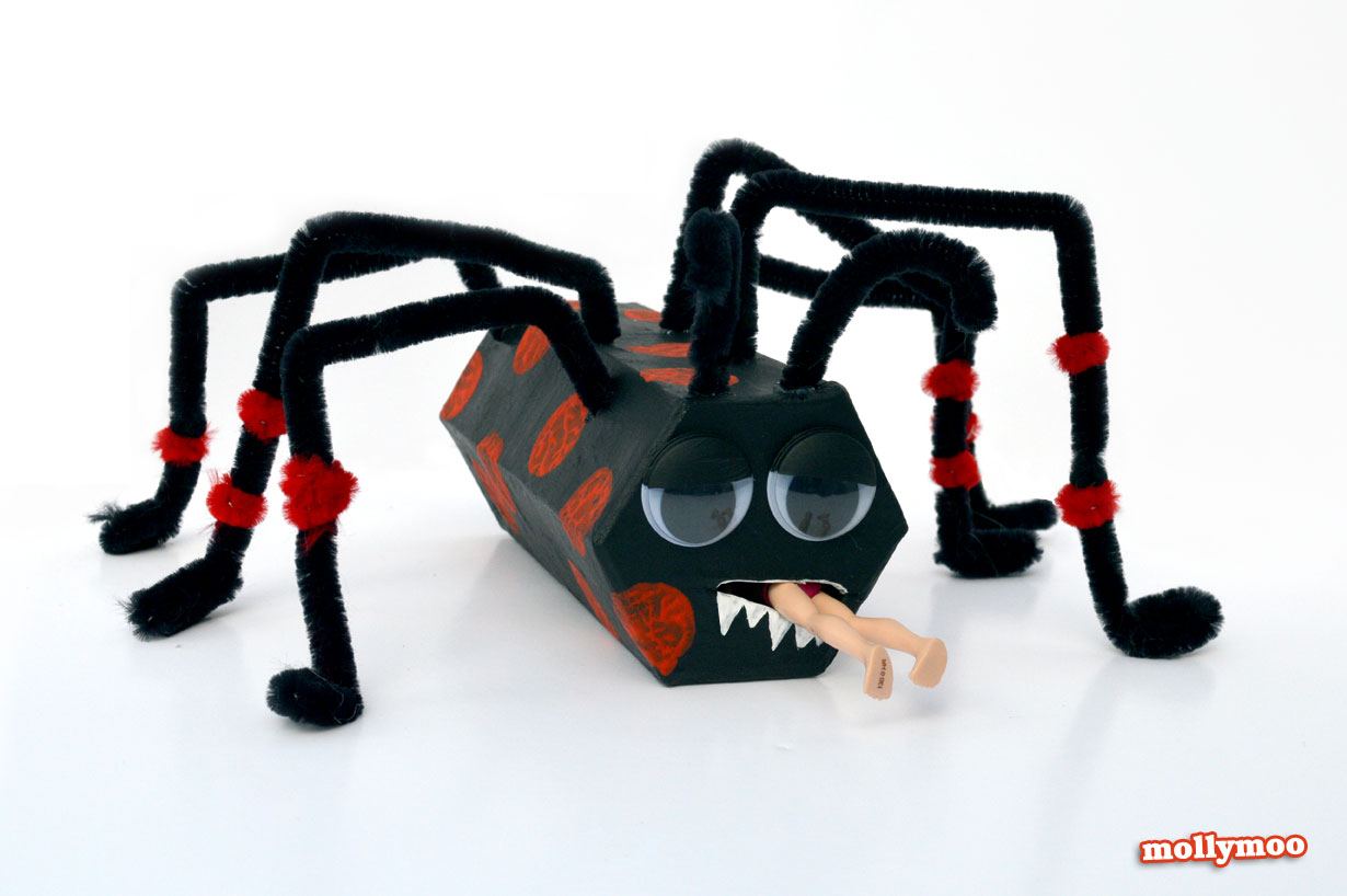halloween spider craft - Halloween Spider Craft Ideas