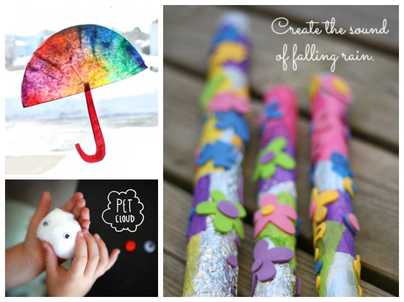 Mollymoocrafts Rainy Day Crafts Activities Round Up Of The Best