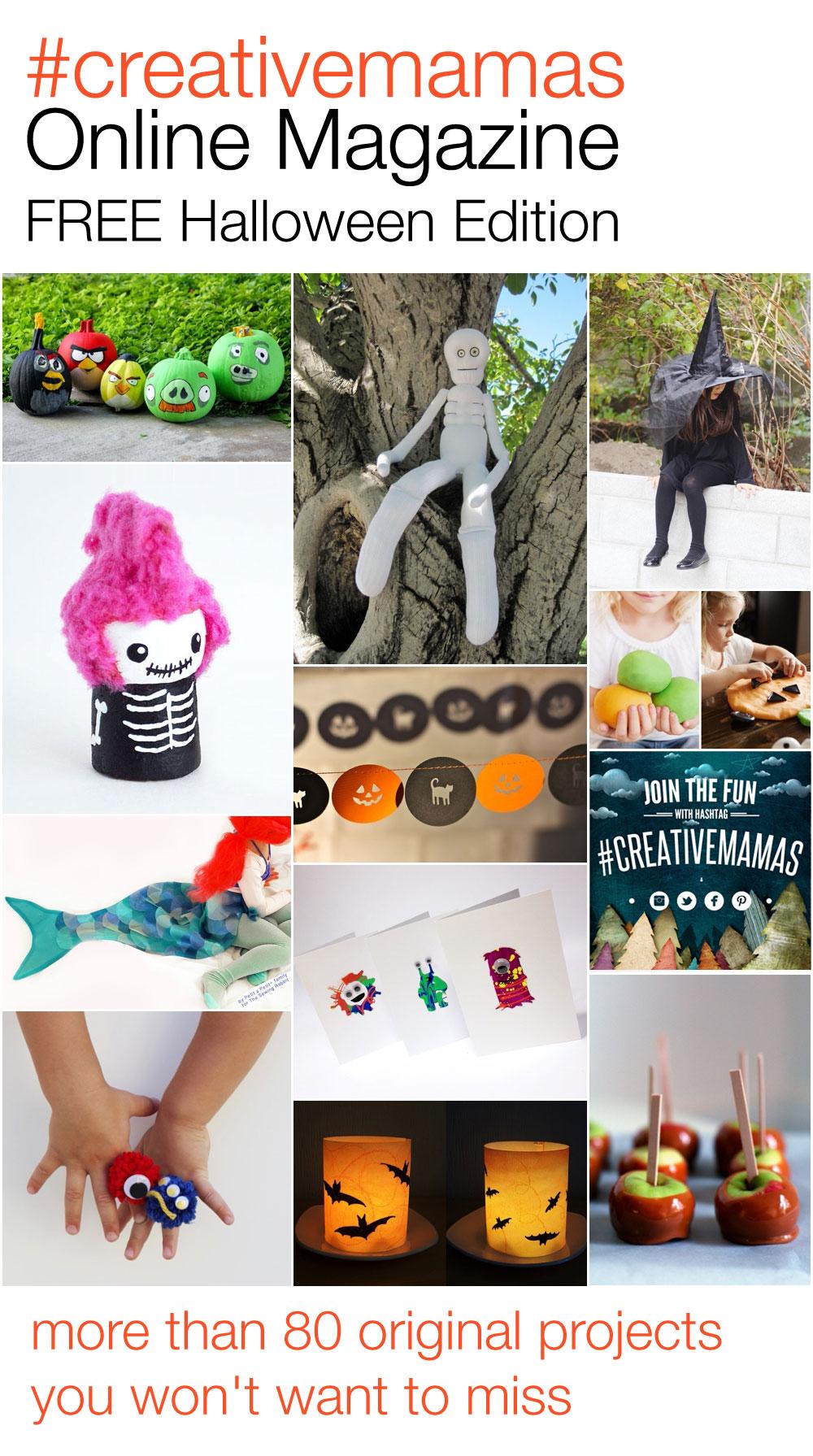 #creativemamas online magazine, halloween edition