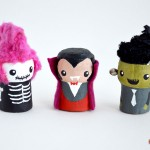 Try it! Halloween Crafts – wine cork toys