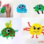 Potato Printing Monsters for Everyday Eun