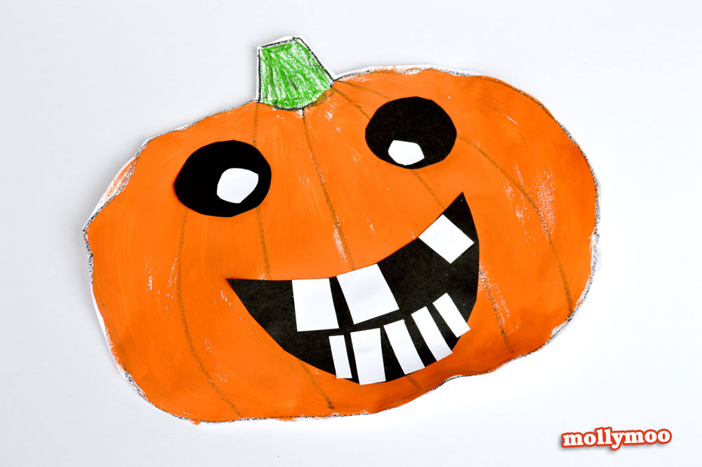Mollymoocrafts 20min Halloween Art Projects