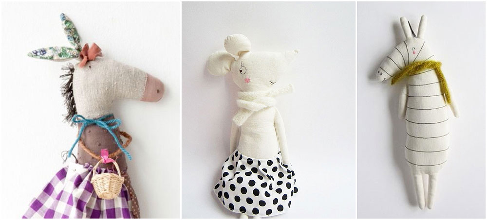 handmade softies and dolls