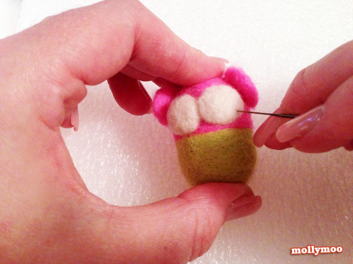 needle felting tutorial by MollyMoo