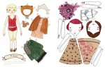 paper dolls + printables for kids