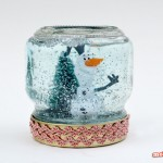 Christmas Crafts: How to Make A Snow Globe