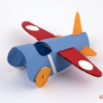 Toilet Roll Crafts for Kids – Aeroplane
