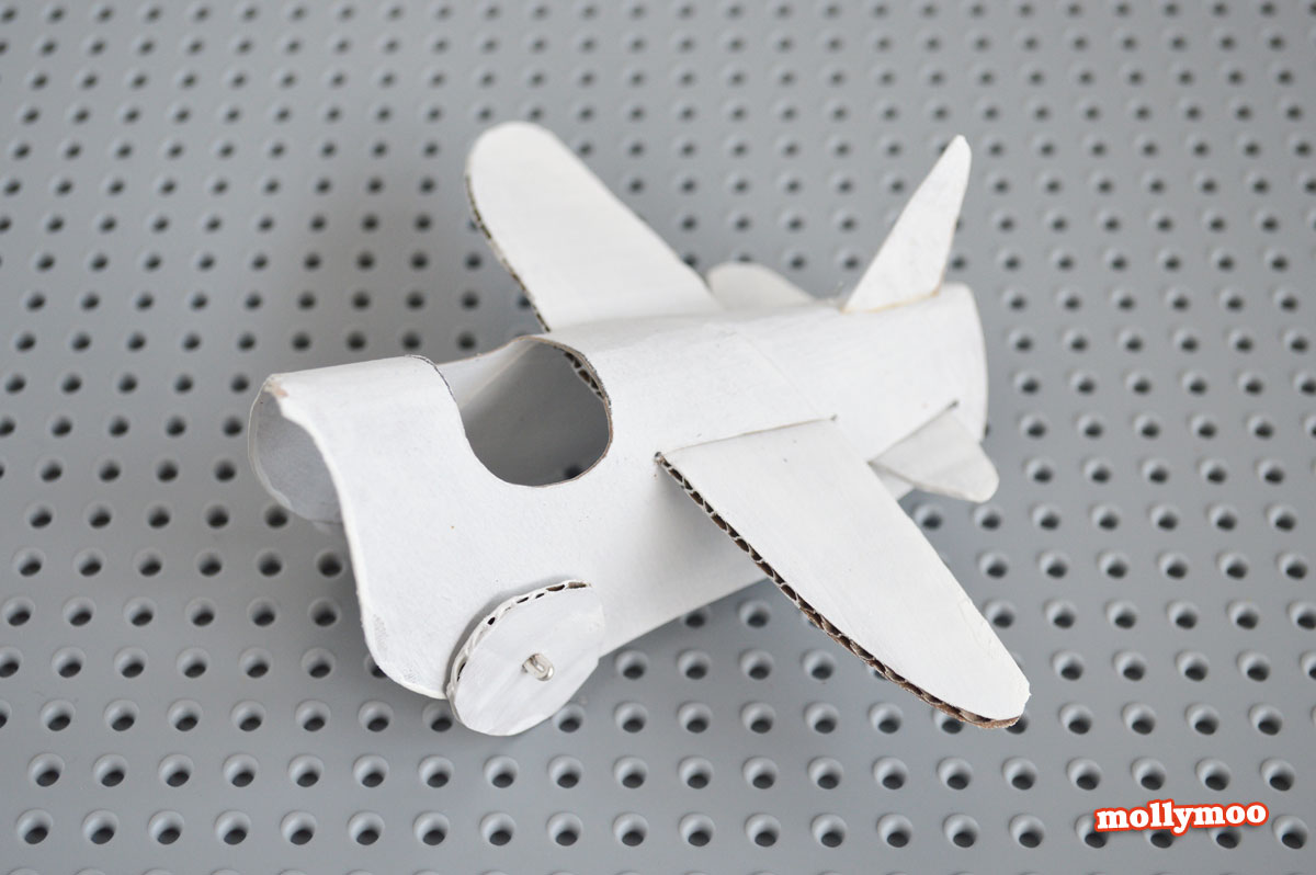 toilet roll crafts for kids, toilet roll plane, mollymoo, Michelle McInerney