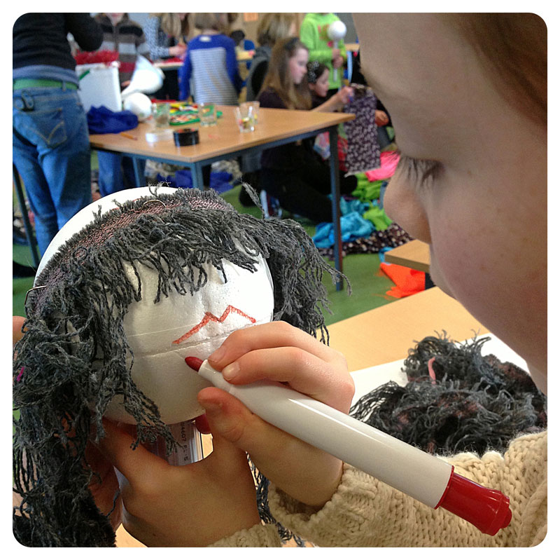 puppet making children's workshop