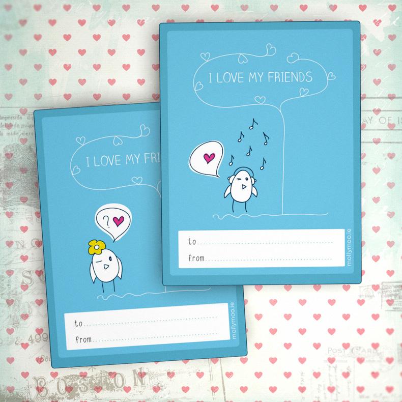 Free Printable Class Valentines
