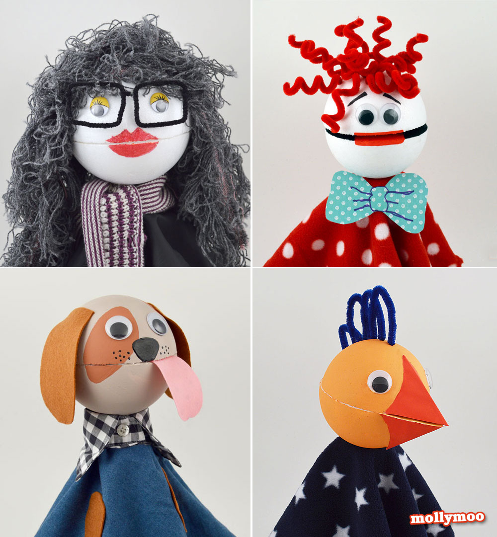 craft tutorial, puppet making