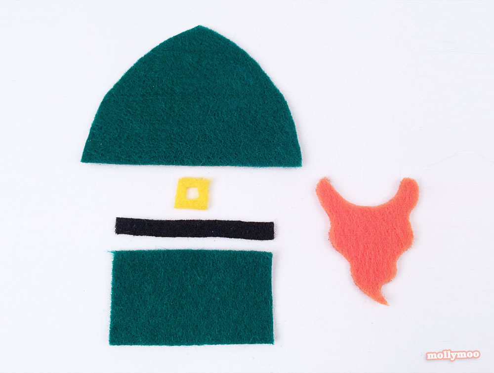 leprechaun peg doll craft tutorial by Michelle McInerney of MollyMoo St Patrick's Day Crafts For Kids