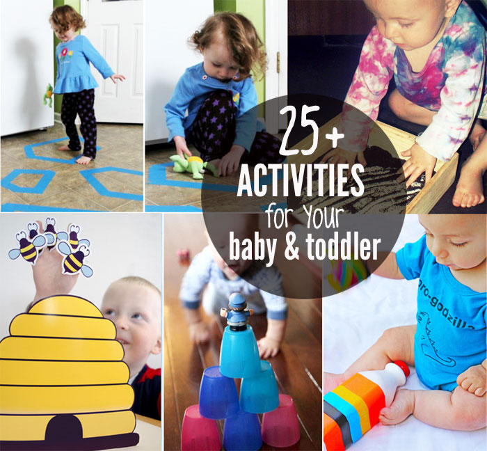 25 activities for your baby and toddler