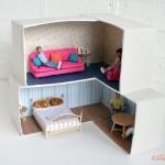 Cardboard Crafting: DIY Dollhouse